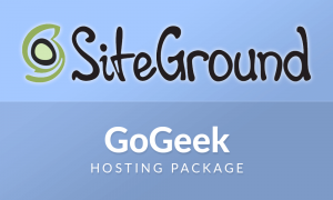 siteground gogeek multiple sites